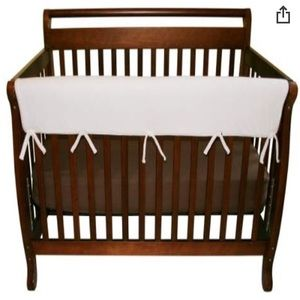 Crib Rail Wrap White Trend Lab